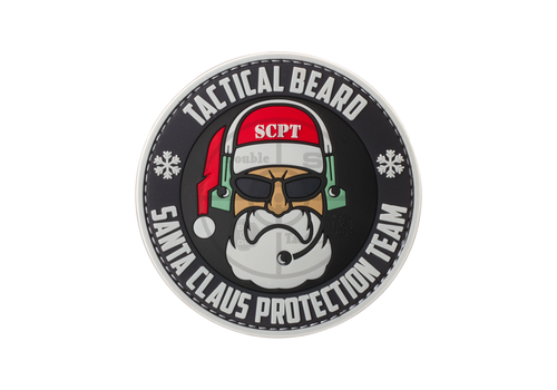 Santa Claus Protection Team Rubber Patch