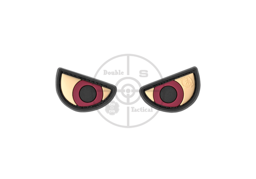 Angry Eyes Rubber Patch