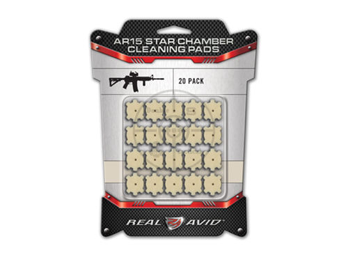 REAL AVID Star Chamber Cleaning Pads AR15