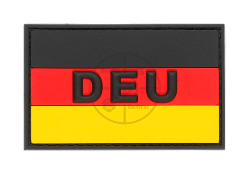 German Flag Rubber Patch