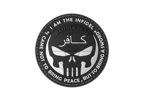 The Infidel Punisher Rubber Patch