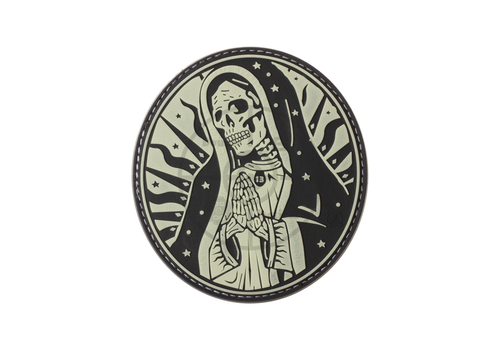 Santa Muerte Rubber Patch