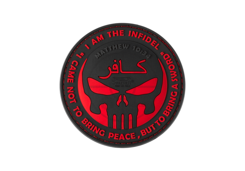 The Infidel Punisher Rubber Patch rot