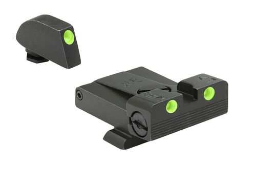 Meprolight Tru-​Dot® Nachtvisierung Adjustable Glock 17/19