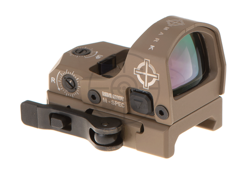 Sightmark Mini Shot M-Spec LQD Reflex Sight Dark Earth